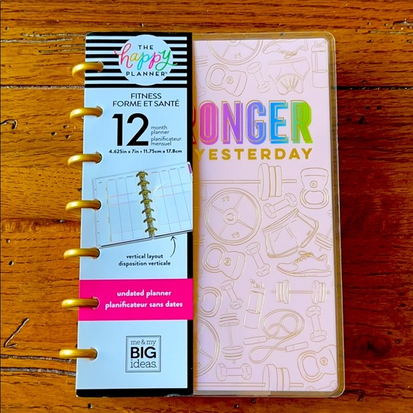 Happy Planner Mini Fitness